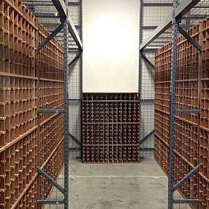 "Wine storage ""units"" for individual bottles"